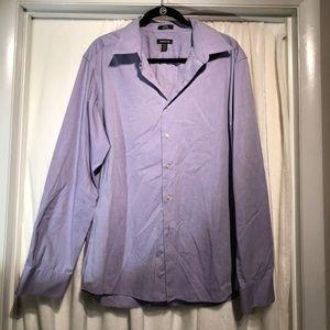 Men's Liz Claiborne Fitted Shirt purple
